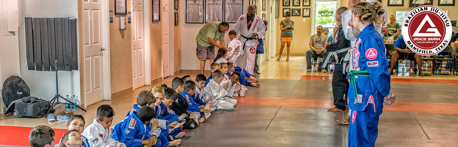 Kids Classes at Gracie Barra Mansfield & Arlington TX