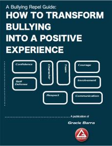 Gracie Barra Mansfield, gracie barra, bjj, jiu jitsu, anti bullying, antibullying, anti bullying book, anti bullying manual