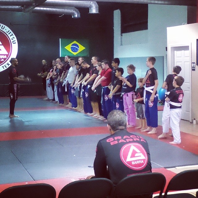 Great class tonight at #gbmansfieldtx ossss! #graciebarra #jiujitsuforeveryone